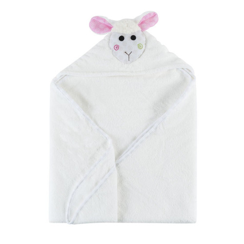 Hooded Baby Towel-Lola Lamb