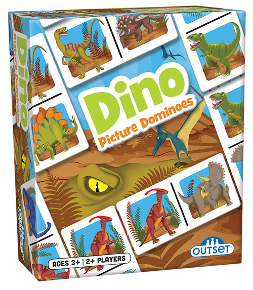 Dino dominoes