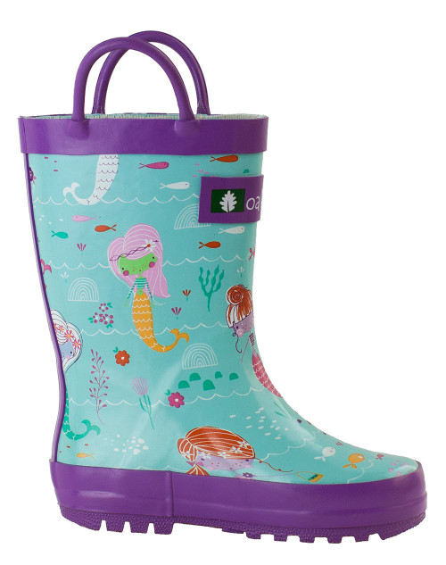 Mermaid Rainboots