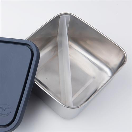 U Konserve Divide to go Medium square container