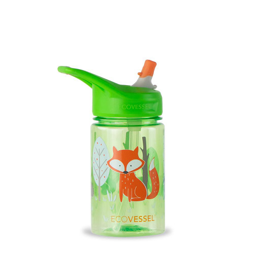 Splash Tritan Bottle-Fox
