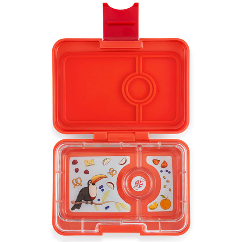Yumbox Mini-Saffron Orange