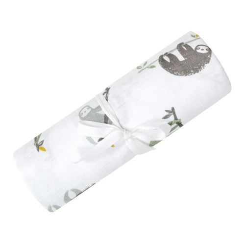 Cotton Muslin Swaddle- more prints