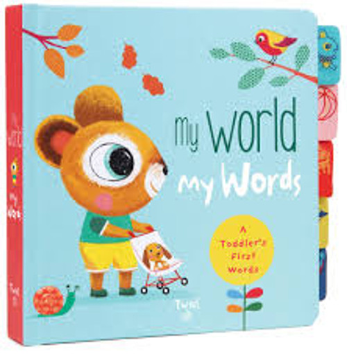 My Words, My World Board Book