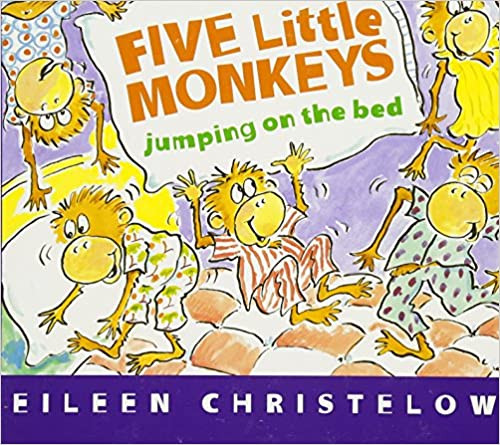 Five Little Monkeys Large Board Book