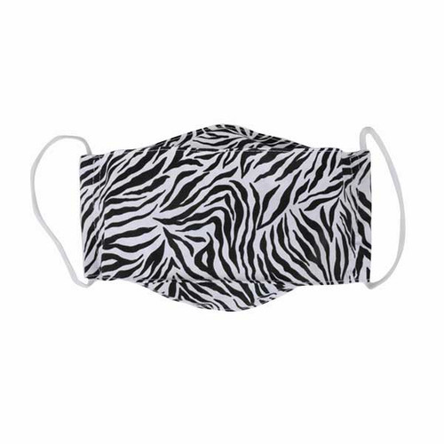 Zebra Adult Cloth Face Mask