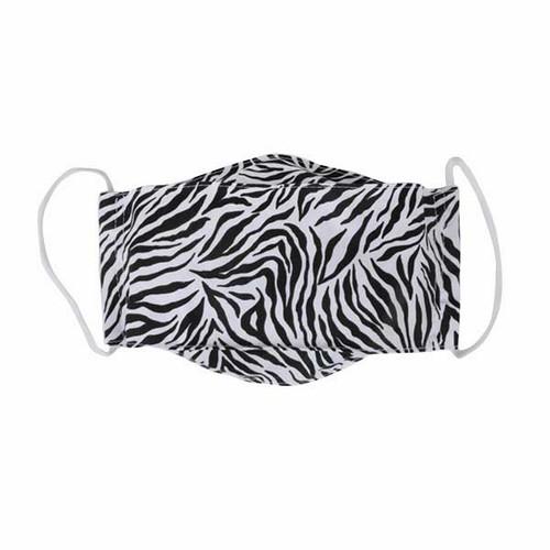 Zebra Adult Cloth Face Mask
