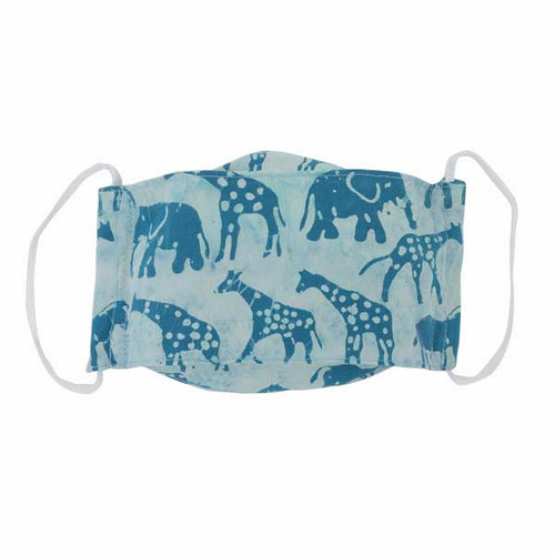 Kids Cloth Face Mask-Batik Safari