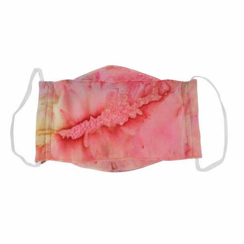 Adult Cloth Face Mask-Batik Coral