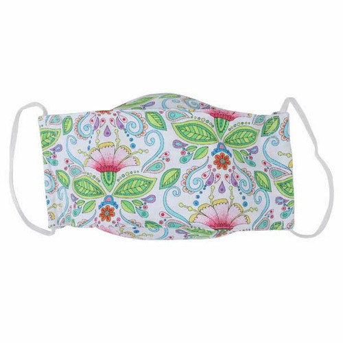 Adult Cloth Face Mask-Water Lily