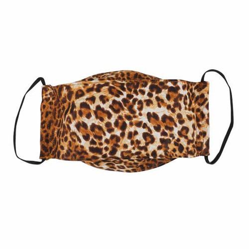 Adult Cloth Face Mask-Cheetah