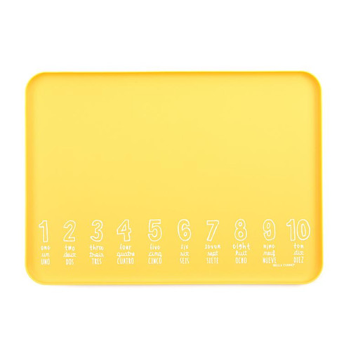 "Bella Tunno wonder tray ""numbers"" yellow"