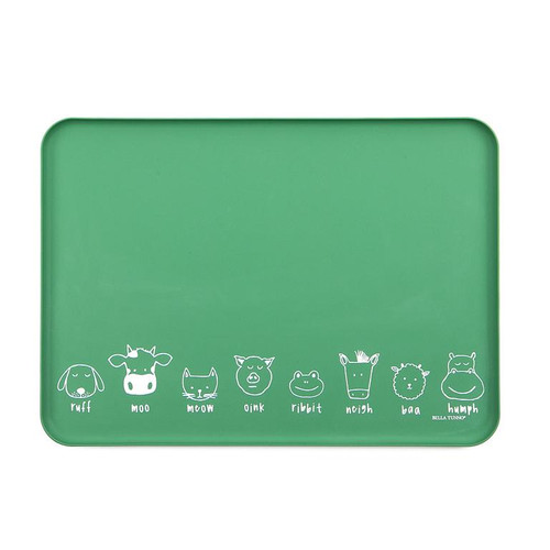 "Bella Tunno wonder tray ""animals"" green"