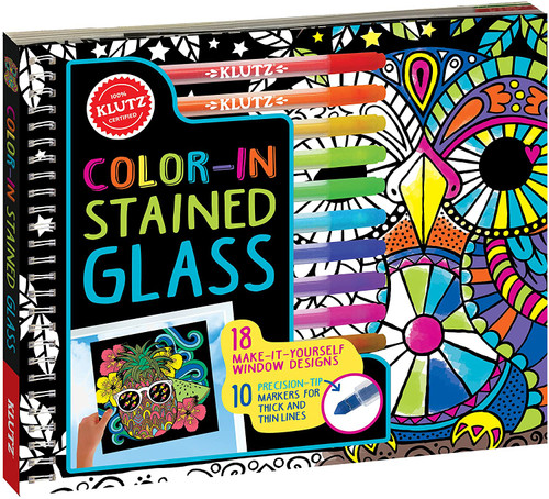 Klutz colour in stained glass craft kit