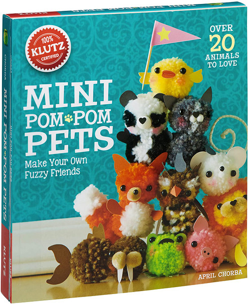 Klutz mini pom pom pets craft kit