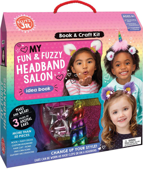 Klutz Fun and Fuzzy Headbands 4yrs+