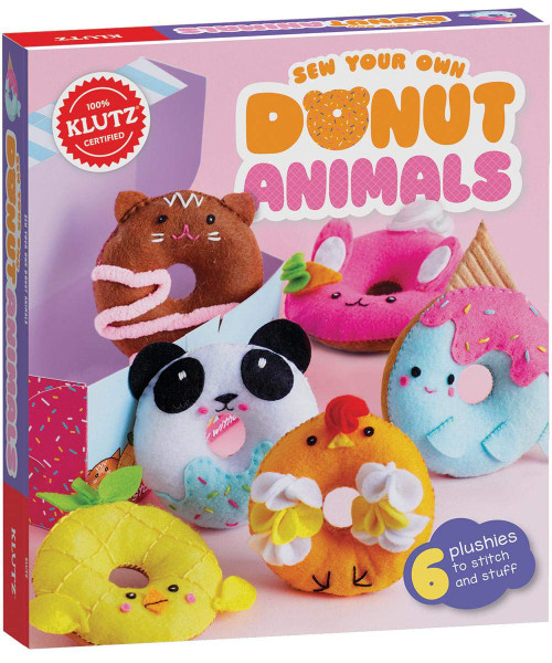 Klutz Sew your own donut animals kit