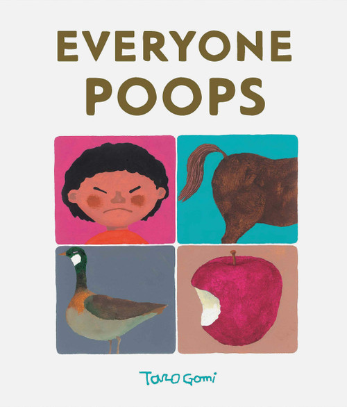 Everyone Poops book by Taro Gomi, front cover