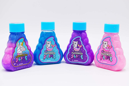 4 bottles of Super Cool Magical Creatures Slime