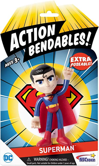 Action Bendables Superman in package