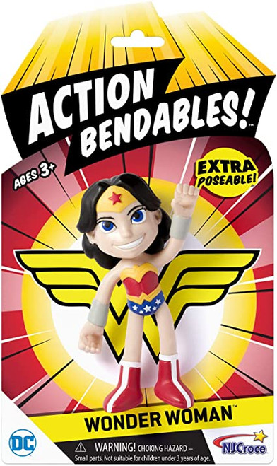 Action bendables wonder woman in package