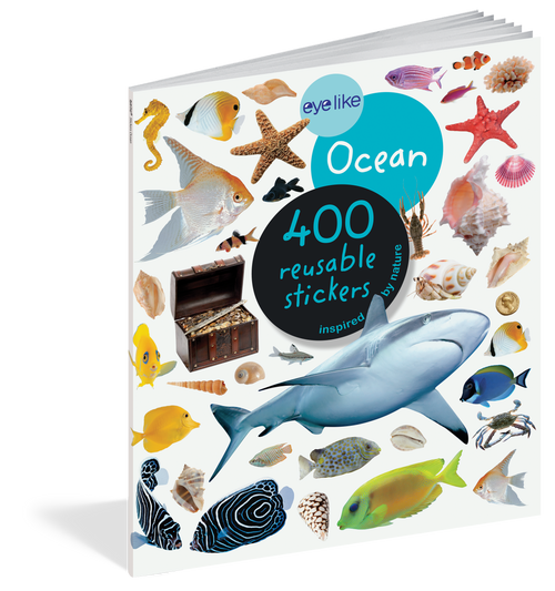 Eyelike Sticker book-Ocean
