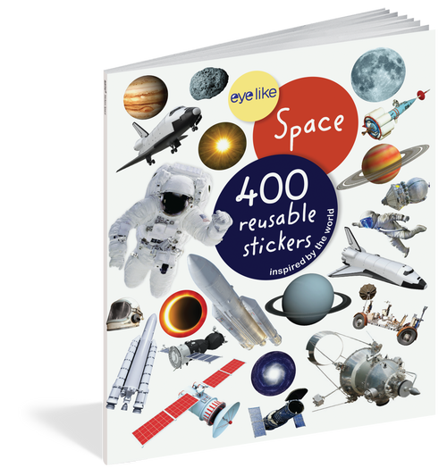 Eyelike Sticker book-space
