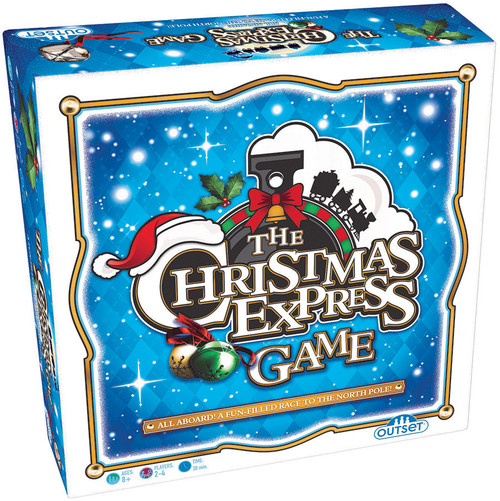 Christmas Express game, box shown