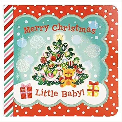 "Cover of ""merry Christmas little baby"" Board Book"