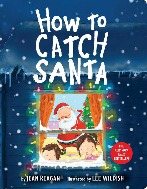 "Cover of ""How to Catch Santa"" board book"