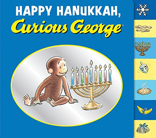 Happy Hanukkah Curious George book