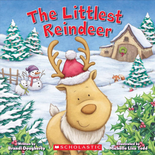 The littlest reindeer book