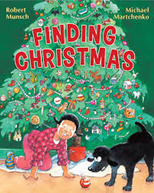 Finding Christmas Robert Munsch book