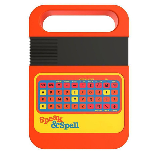 Speak and Spell toy