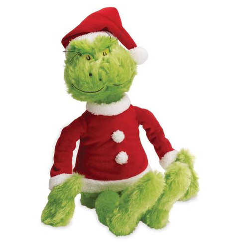 Dr. Seuss the Grinch plush toy