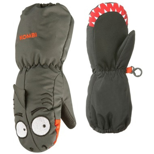 "Kombi Animal Family Mitts, grey, ""Spooky the Shark"""