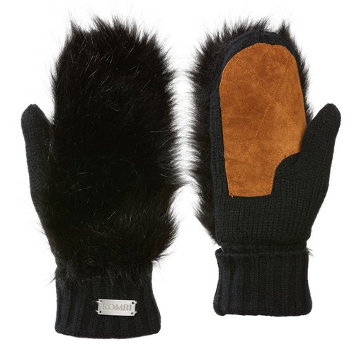 Kombi Fuzzy Jr. Mitts, black