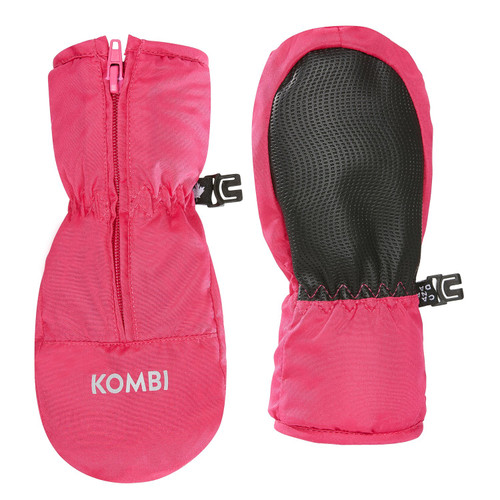 Kombi Glee infant mitts wild pink