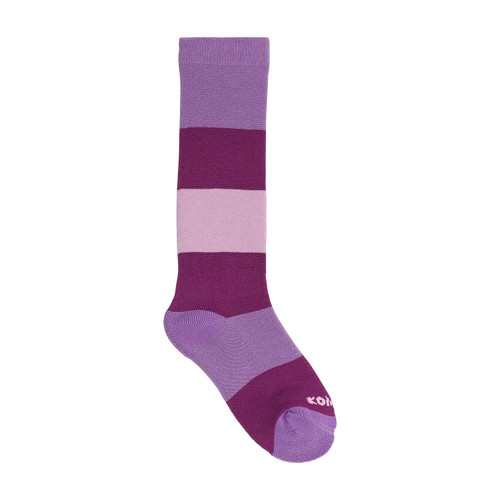Kombi Candy Man sock wild fiction purple children's sock