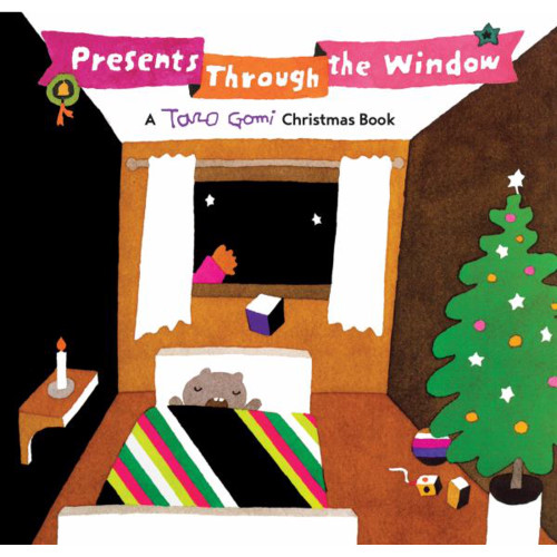 Presents Through the Window book Taro Gomi