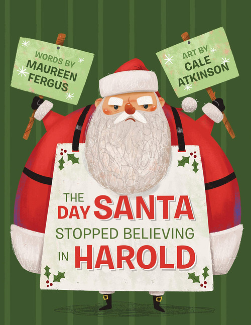 The Day Santa Stopped Believing in Harold book cover