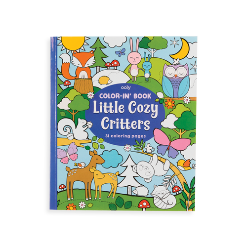 Little Cozy Critters colouring book