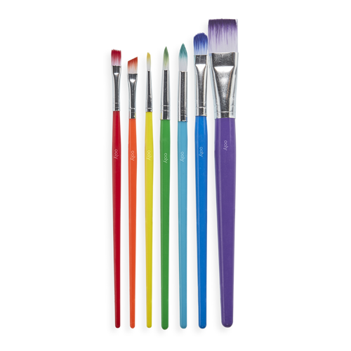 Ooly lil paint brushes, set of 7