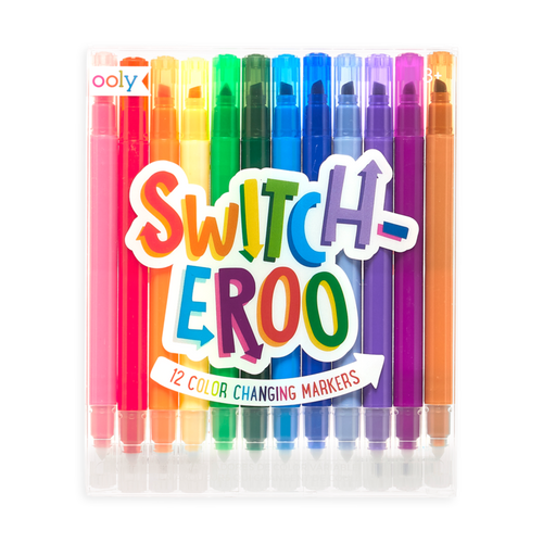 Ooly Switcheroo colour changing markers in package