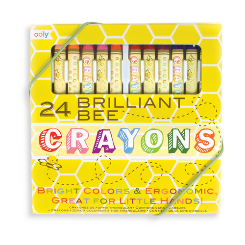 Ooly Brilliant Bee crayons 24 pack