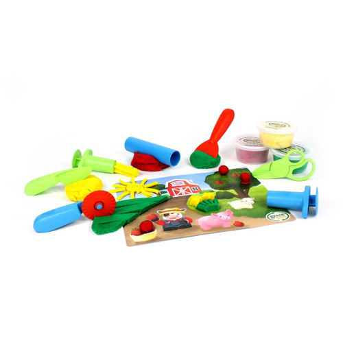 Green Toys Essentials Dough Set contents