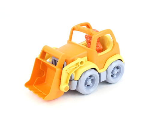 Green Toys Scooper Truck-Orange