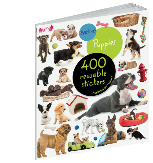 Eyelike puppies sticker book