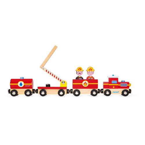 Janod story train firefighters