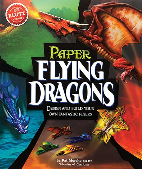 Klutz paper flying dragon craft kit